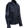 Men's Leon Kennedy Leather Jacket – Resident Evil 6 4