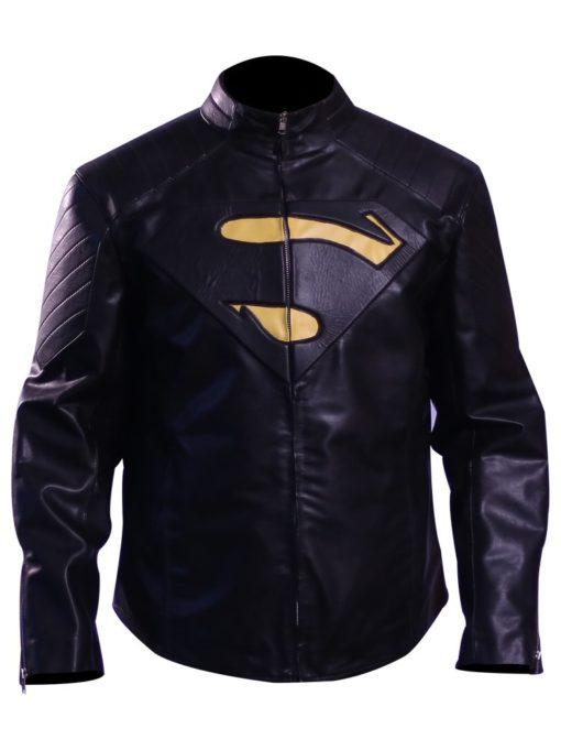 Smallville Superman Jacket ( black superman 'S') 1