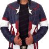 Chris Evan's Avengers Age of Ultron Captain America Jacket