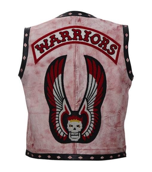 The Warriors Wax vest back