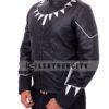 black panther jacket – left side