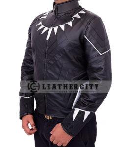 black panther jacket - left side