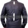 black panther leather jacket – back design