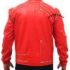 Red-Michael-Jackson-Beat-It-Leather-Jacket-back