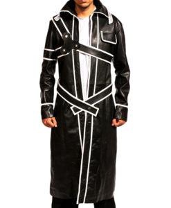 kirito leather costume