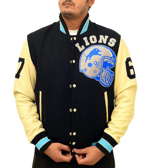 Alex Foley Beverly Hills Cop Detroit Lions Jacket