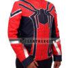 Avengers Infinity War Spiderman Armored Costume Jacket Left