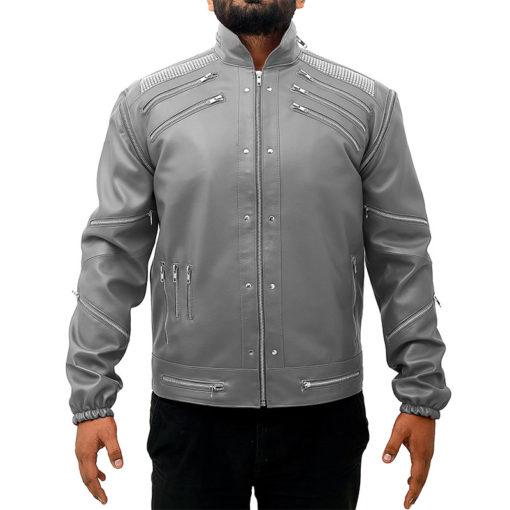 Michael Jackson Beat It jacket grey color