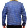 Love Simon's Simon Spier's blue jeans jacket back