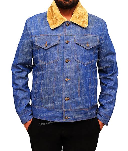 Love Simon's Simon Spier's blue jeans jacket