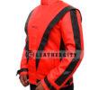 Michael Jackson Thriller Genuine Leather Jacket Left