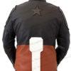 Captain America Infinity War Leather Jacket BAck
