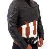 Captain America Infinity War Leather Jacket Left