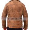 Wolfenstein The New Order Game William B.J Blazkowicz Leather Jacket BAck