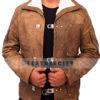 Wolfenstein The New Order Game William B.J Blazkowicz Leather Jacket Front 2