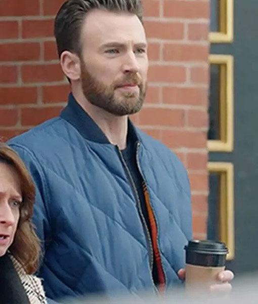 Chris Evans Bomber Jacket