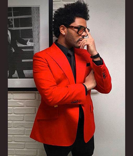 The Weeknd Blinding Coat