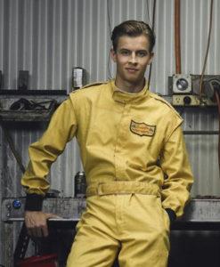 GO KARTS Jack Hooper Cafe Racer Jacket