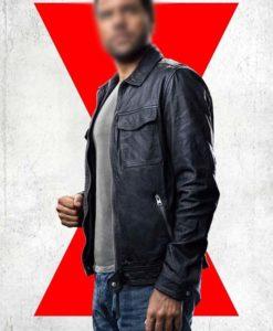 Mason Black Leather Jacket