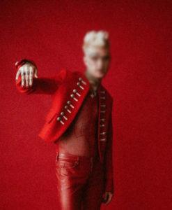 Michael Red Wool Jacket