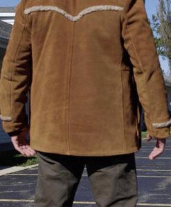 Javier Brown Suede Leather Jacket