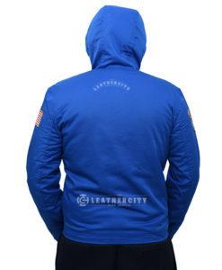 Raymond Blue Jacket with Hood